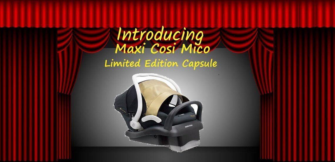 maxi-cosi mico limited edition capsule