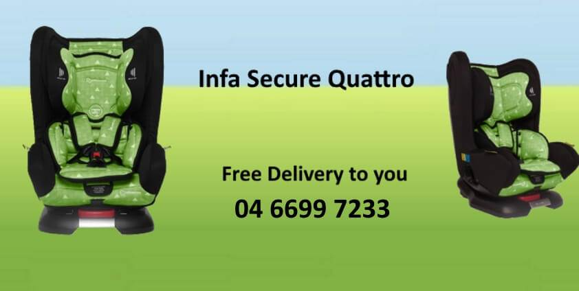 Extended rear facing car seat hire